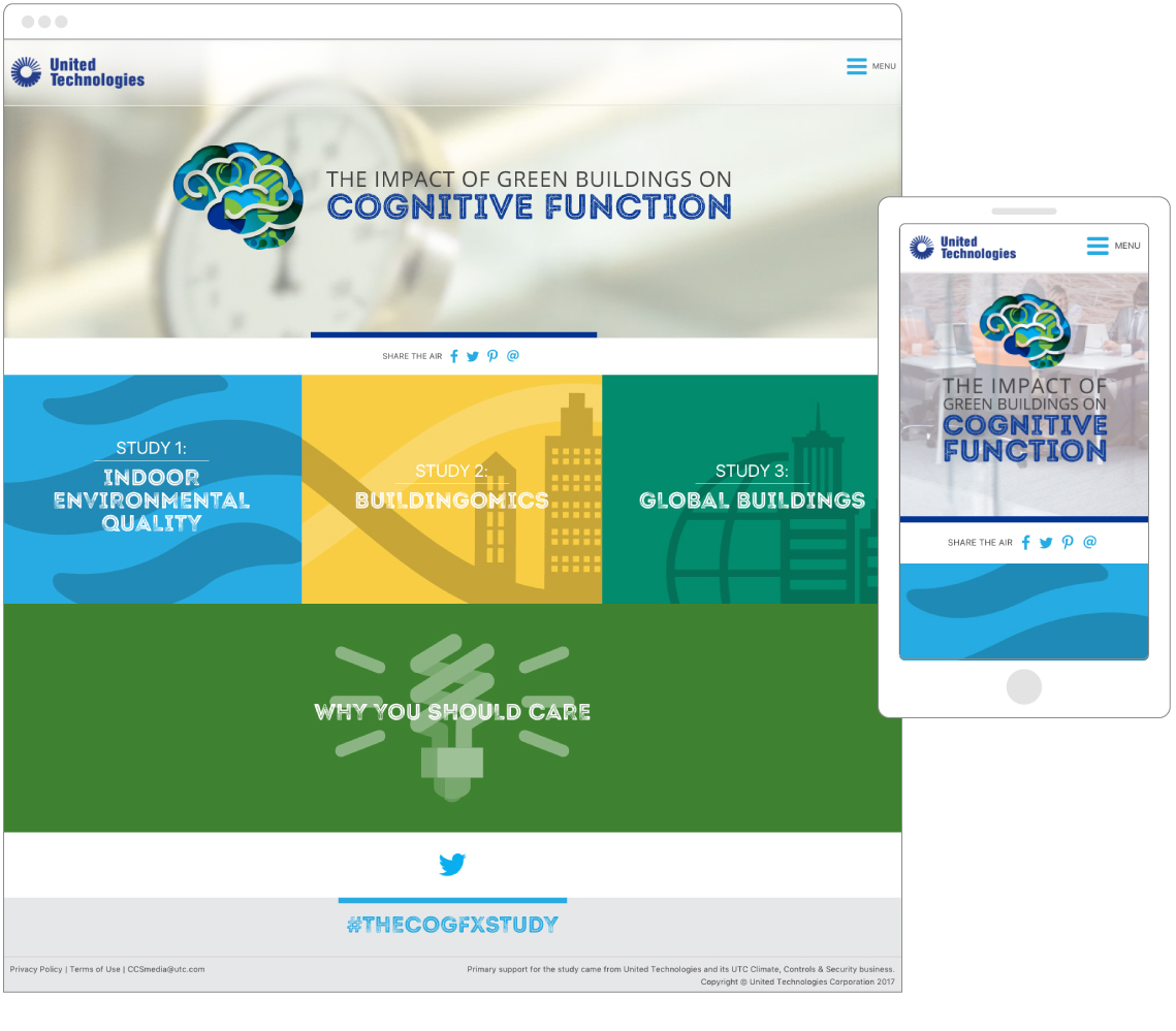 United Technologies Corporation – The COGfx Studies - Website