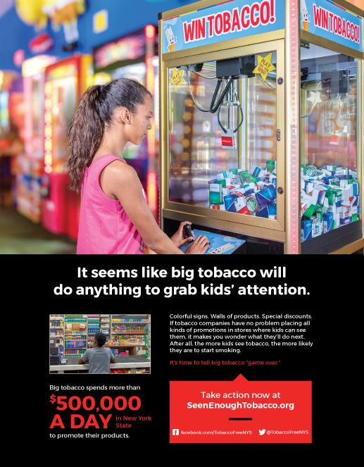 Tobacco Free NYS - Print Ads