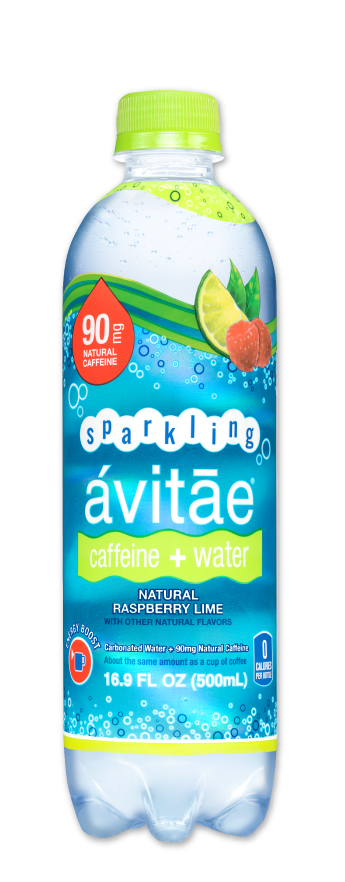 Avitae Caffeinated Water - Packaging