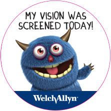 Welch Allyn Spot Vision Campaign - Stickers