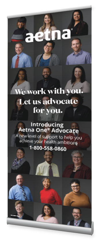 Aetna - One Advocate Launch - Event Materials