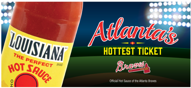 Southeastern Mills – Louisiana Hot Sauce Social Media - The Atlanta Braves