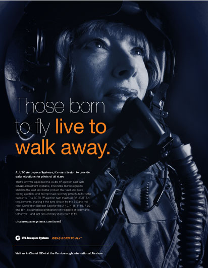 UTC Aerospace Systems – Farnborough Airshow - Print Ads